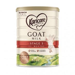 Karicare 可瑞康 婴幼儿羊奶粉 3段900g 12个月以上