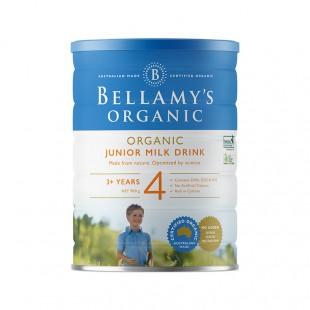 Bellamy's 贝拉米 有机婴儿配方奶粉4段900g 3岁以上